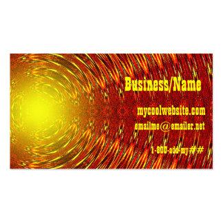 Summer Heat Business Card