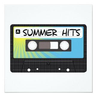 Summer Hits 13 Cm X 13 Cm Square Invitation Card