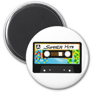 Summer Hits Tape Magnet