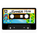 Summer Hits Tape Postcards
