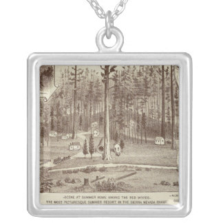 Summer Home, Lewis residence Silver Plated Necklace