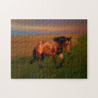 Summer Horse Jigsaw Puzzle