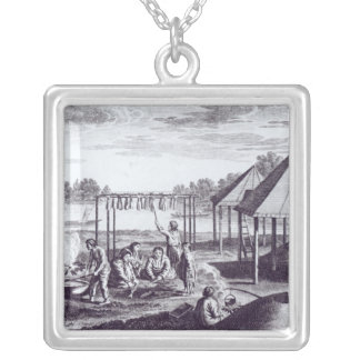Summer Huts Silver Plated Necklace