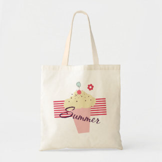 Summer Ice Cream Cone Tote Bag