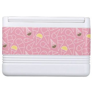 Summer Ice Cream Pattern Igloo Cooler