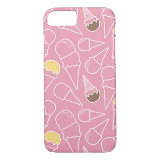 Summer Ice Cream Pattern iPhone 8/7 Case