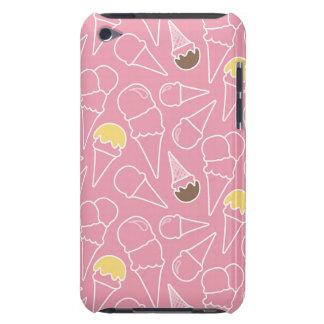 Summer Ice Cream Pattern iPod Case-Mate Case