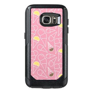 Summer Ice Cream Pattern OtterBox Samsung Galaxy S7 Case