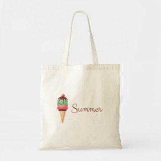 Summer Ice Cream Tote Bag