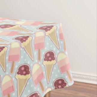 Summer Ice Creams Tablecloth