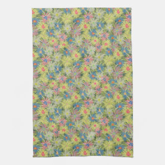 Summer Ice Plant botanical Tea Towel
