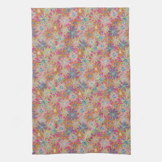 Summer Ice Plant-Rosie Botanical Tea Towel