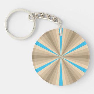 Summer Illusion Acrylic Keychain