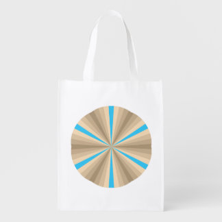Summer Illusion Reusable Grocery Bag