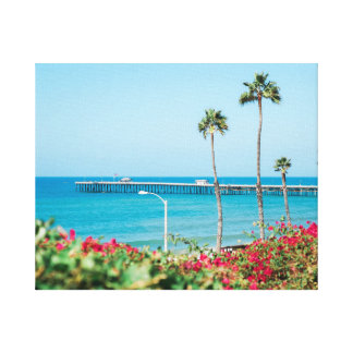 Summer in California Stretched Canvas Print