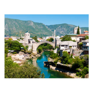 Summer in Mostar Postcard