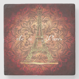 Summer in Paris stone coaster