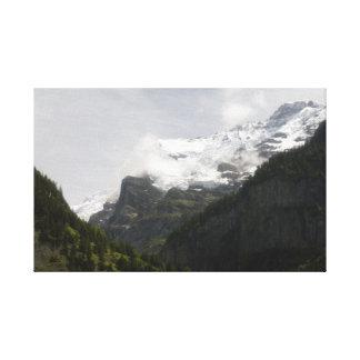 Summer In Switzerland Canvas Print