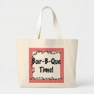 Summer Invitation Canvas Bag