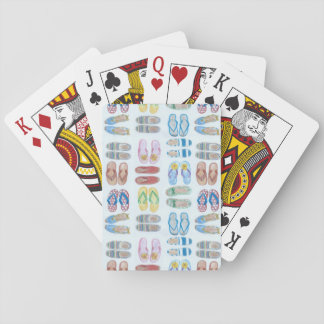 Summer is for Sandals Playing Cards