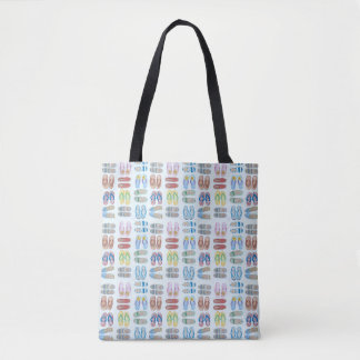 Summer is for Sandals Tote Bag