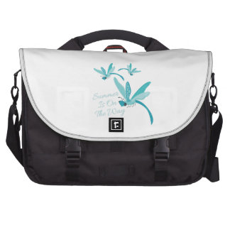 Summer Is On The Way Laptop Messenger Bag