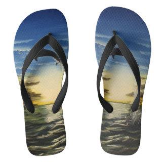 Summer jump flip flops