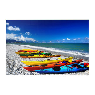 Summer Kayaking Acrylic Wall Art