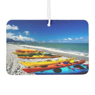 Summer Kayaking Car Air Freshener