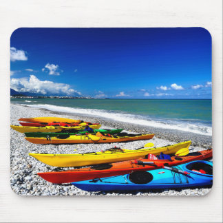 Summer Kayaking Mouse Pad