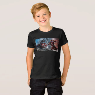 Summer Kids T-shirt - Marvel Logo