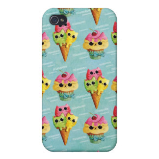 Summer Kitty Cats Madness iPhone 4 Cover