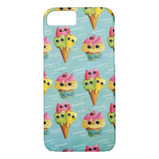 Summer Kitty Cats Madness iPhone 8/7 Case