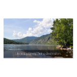 Summer Lake Inspirational Business Name Card Business Cards