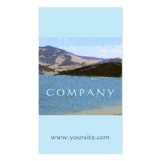 Summer Lake Pack Of Standard Business Cards