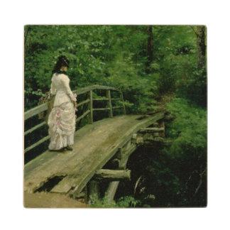 Summer Landscape, 1879 Wood Coaster