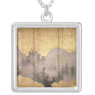 Summer Landscape Silver Plated Necklace