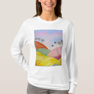 Summer Landscape. T-Shirt