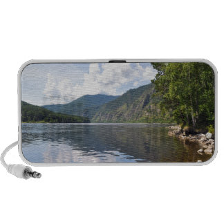 Summer Landscape With River iPod Speakers
