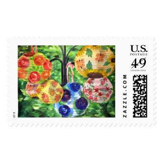 Summer Lanturns Postage Stamp