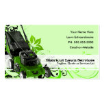 summer lawn services pack of standard business cards