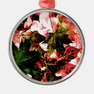 SUMMER LEAVES CHRISTMAS ORNAMENT