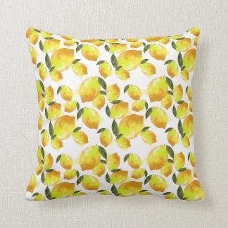 Summer Lemons Pillow