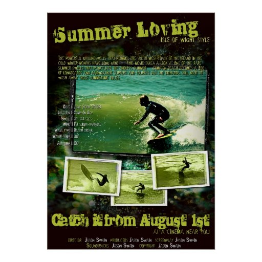 Summer Loving (Isle of Wight Style) Poster