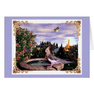 Summer Magick Periwinkle Card