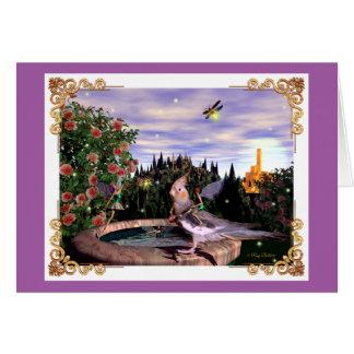 Summer Magick Purple Card