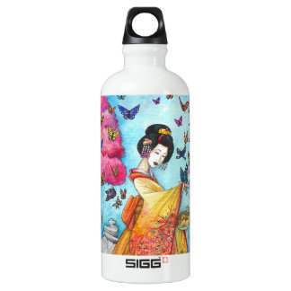 Summer Maiko Geisha Butterfly SIGG Traveller 0.6L Water Bottle