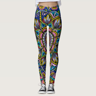 Summer Mandala Leggings