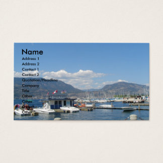 Summer Marina Business Card