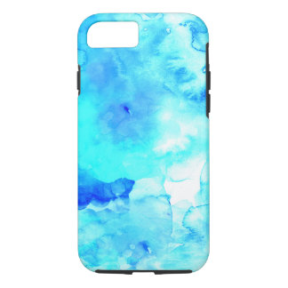 Summer modern blue sea hand painted watercolor iPhone 8/7 case